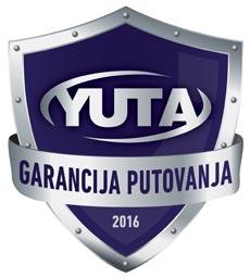 Yuta garancija putovanja