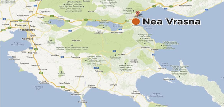 nea vrasna mapa grcke mapa grcke nea vrasna   Magelan turistička agencija Novi Sad nea vrasna mapa grcke
