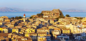 Krf grad, izlet, Grčka