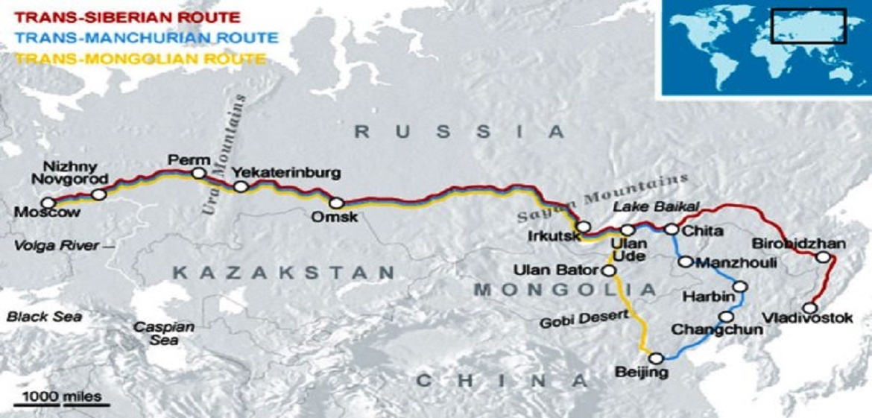 putovanje transibirskom železnicom